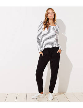 Petite Slouchy Joggers by Loft