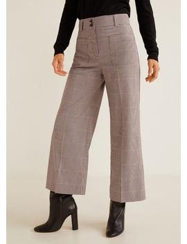 Pantaloni Stampa Tasche by Mango