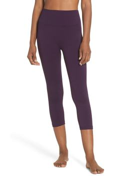 Millie Perforated Crop Leggings by Climawear