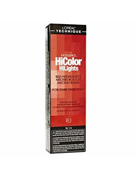 L'oreal Excel Hicolor Highlights Red 34 G (3 Pack) by L'Óreal