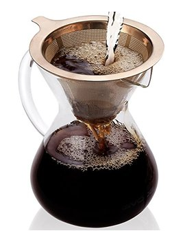 Gvode Pour Over Coffee Maker,14 Oz Hand Manual Coffee Dripper by Gvode