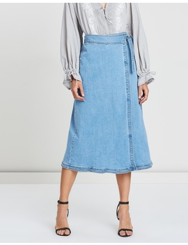 Willa Wrap Skirt by Steele