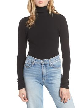 Rib Knit Turtleneck Tee by 7 For All Mankind®