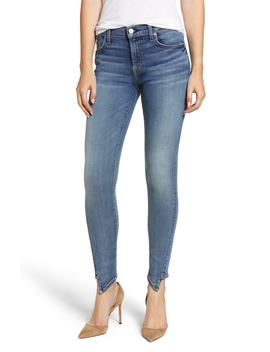 The Ankle Splice Hem Skinny Jeans by 7 For All Mankind®