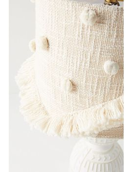 Bungalow Embroidered Lampshade by Anthropologie