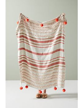 Simone Throw Blanket by Anthropologie