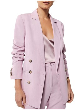 Double Breasted Button Blazer by Witchery