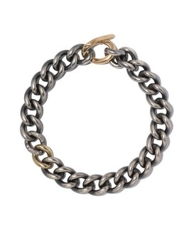 18kt Yellow Gold And Diamond Chain Bracelet by Hum