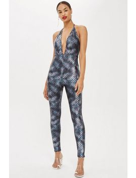 Mermaid Halter Neck Jumpsuit By Moon Dreamers by Topshop
