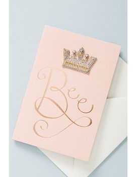 Queen Bee Sticker Patch + Card by Anthropologie