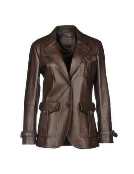 Prada Leather Jacket   Coats & Jackets by Prada