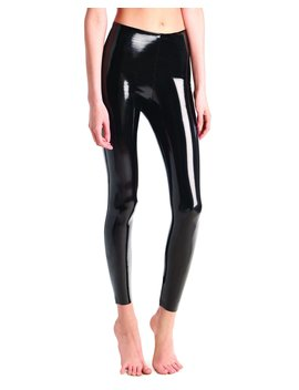 Classic Patent Faux Leather Firming Leggings by Commando
