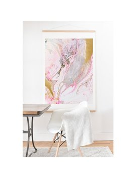 Iveta Abolina 'winter Marble' Hanging Art Print by Generic