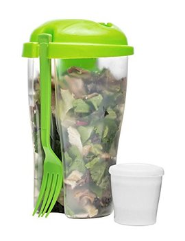 Fresh 27 Oz. Salad To Go Container Color: Green by Sagaform