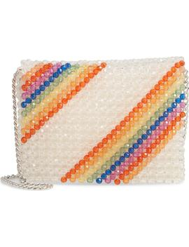 Zizi Beaded Rainbow Shoulder Bag by Topshop