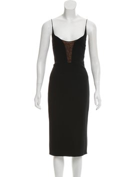 2015 Lace Accented Dress by Narciso Rodriguez