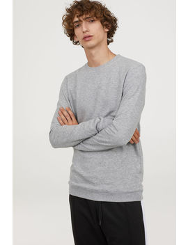 Sweatshirt Muscle Fit by H&M