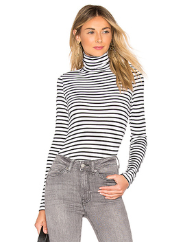 Venice Stripe Classic Turtleneck by Splendid