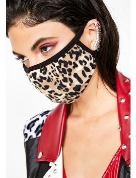 Feline Feisty Leopard Mask by Ana Accessories
