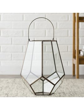 Birch Lane™ Edison Candleholder Glass Terrarium by Birch Lane™