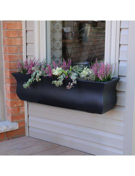 Mayne Inc. Valencia Self Watering Plastic Window Box Planter by Mayne Inc.