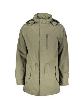 Khaki Green Lomax Mac Jacket by Vans