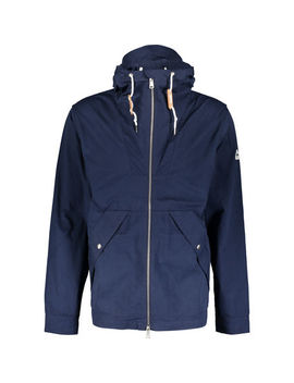 Navy Hooded Coat by Penfield