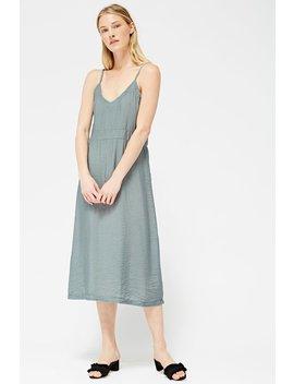 Lacausa Alma Slip Dress   Sage by Garmentory
