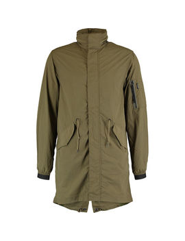 Khaki Green Rain Coat by Penfield