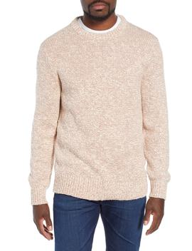 Wallace & Barnes Crewneck Marled Cotton Sweater by J.Crew