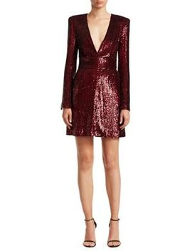 Mara Sequin Mini A Line Dress by A.L.C.