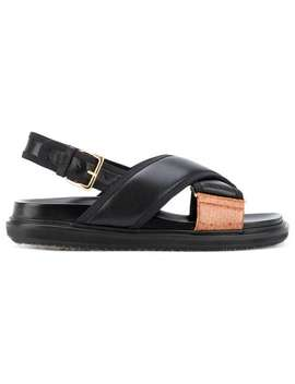 Classic Fussbet Sandals by Marni