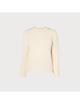 Delyla Cream Sweater by L.K.Bennett