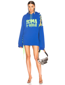 Side Laced Hoodie Dress by Fenty By Puma