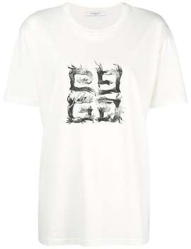 Logo Patch Short Sleeve T Shirt by Givenchy