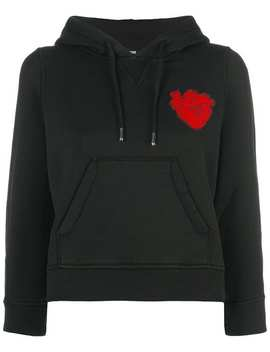 Heart Patch Hoodie by Dsquared2