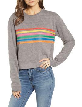 Laguna Stripe Natasha Sweatshirt by Sub Urban Riot