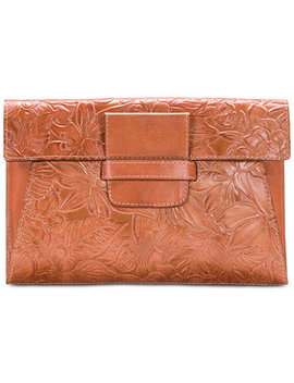 Floral Sarzana Medium Clutch by Patricia Nash