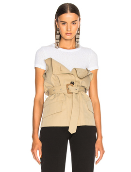 Tie Waist Corset Top by Maison Margiela