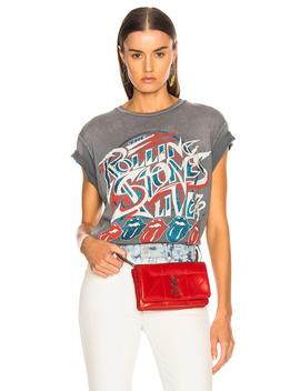 Rolling Stones Live '78 Crew Tee by Madeworn
