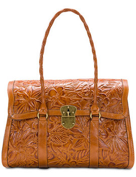 Floral Vienna Large Satchel by Patricia Nash