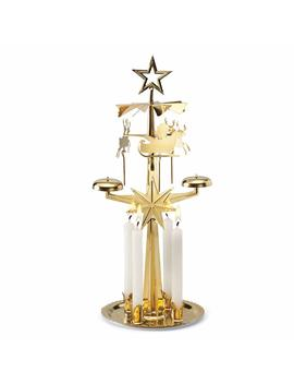 Original Swedish Angel Chimes Santa Brass by Original Swedish Design Christmas Chimes