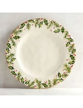 Winter's Wonder Dinner Plate by Pier1 Imports