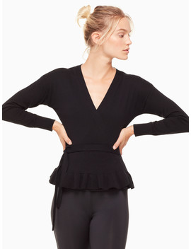 Wrap Sweater by Kate Spade