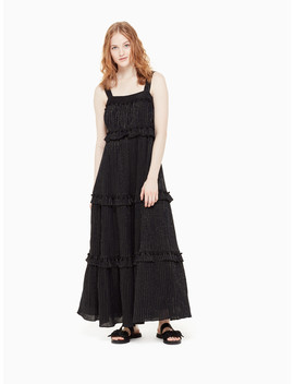 Lurex Gauze Patio Dress by Kate Spade