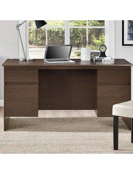 Wrought Studio Elks Executive Desk & Reviews by Wrought Studio