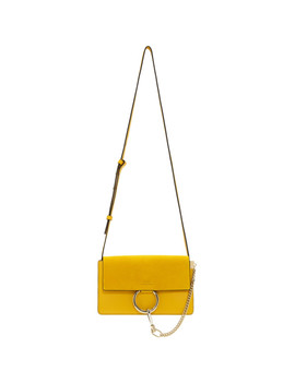 Yellow Small Faye Bag by ChloÉ