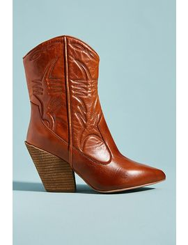 Jeffrey Campbell Midpark Western Boots by Jeffrey Campbell