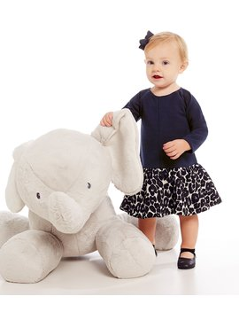 "29"" Jumbo Elephant Plush by Edgehill Collection"