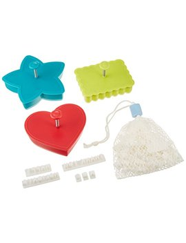 Southern Homewares Message In A Cookie Holiday Cookie Cutters Kit, 98 Piece Set. by Southern Homewares